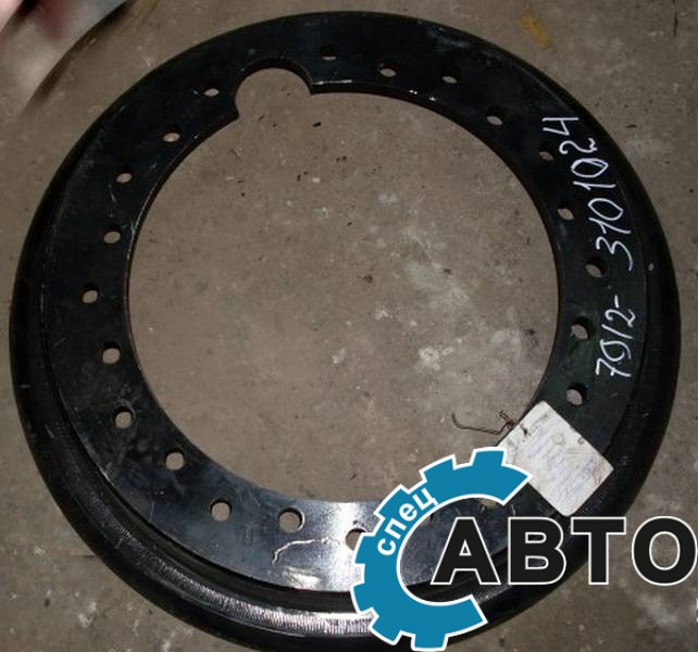 Половина обода колеса мзкт 7912-3101024